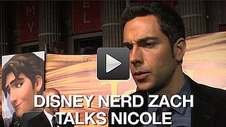 Video of Zachary Levi and Mandy Moore at the Tangled Premiere in LA