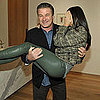 Guess Who's Nestled in Alec Baldwin's Arms?
