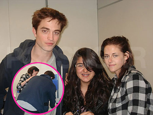 Pictures of Robert Pattinson and Kristen Stewart Kissing in Rio