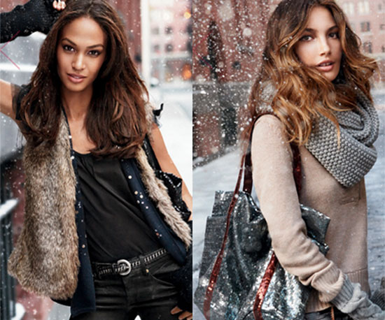 Baby, It's Cold Outside: Warm Up in Gap's Sparkly Winter Staples
