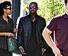 Slide Picture of Usher Arriving on the Set of His Video in LA
