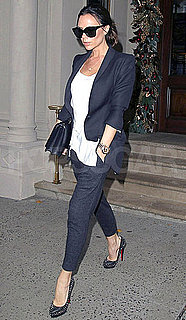 Pictures of Victoria Beckham Shopping in NYC