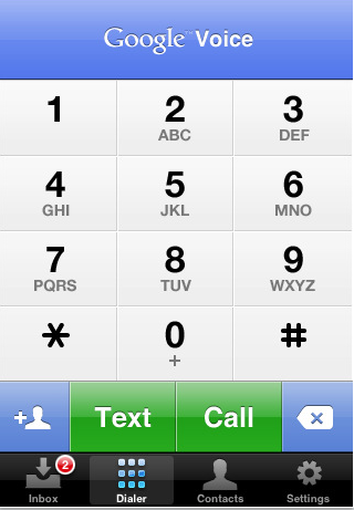 New Google Voice iPhone App