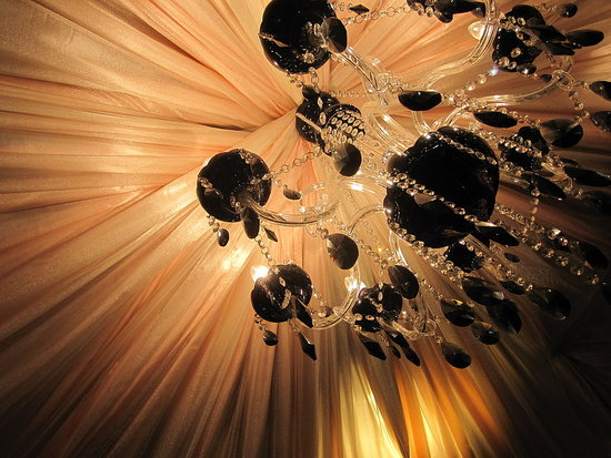 Satin Chandelier