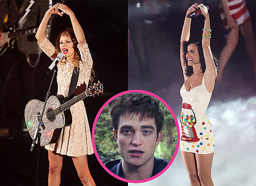 Robert Pattinson, Taylor Swift and Katy Perry at BBC Radio 1 Teen Awards in London