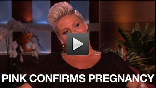 Video of Pink Talking About Being Pregnant