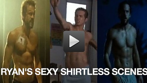 Video of Sexiest Man Alive Ryan Reynolds Without a Shirt