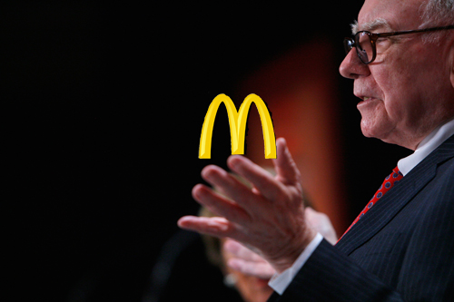 Warren Buffett and Thanksgiving at McDonald's