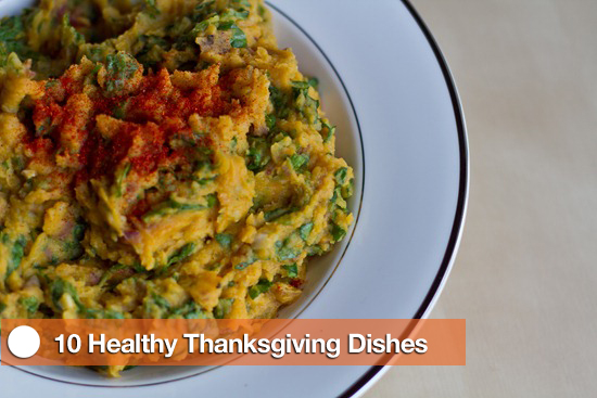 10 Healthy Thanksgiving Dishes