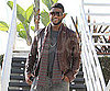 Slide Picture of Usher Leaving an Appointment in LA