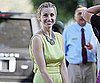 Slide Picture of Whitney Port Wearing a Statement Necklace in LA