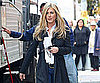 Slide Picture of Jennifer Aniston on the Set of Wanderlust in NYC 2010-11-18 15:30:19