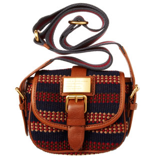 Marc by Marc Jacobs Saddlery Striped Perfect Messenger ($179, originally $258)