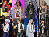 Pictures of Pink, Katy Perry, Rihanna, Christina Aguilera, and Usher Performing