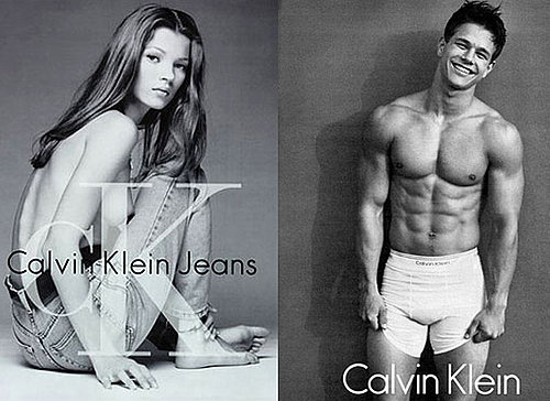 Kate Moss, Mark Wahlberg and Celebrities for Calvin Klein's Birthday