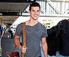 Slide Picture of Taylor Lautner at LAX