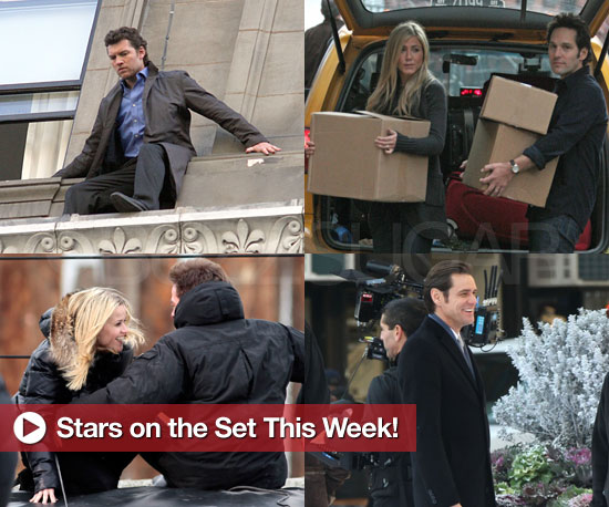 Pictures of Reese Witherspoon, Jennifer Aniston, Sam Worthington, and More on Set