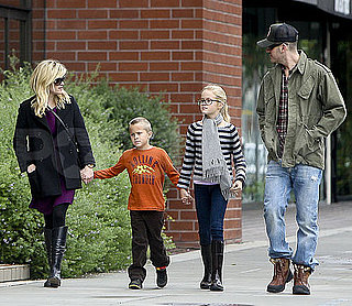 Pictures of Reese Witherspoon and Jim Toth With Ava and Deacon in LA