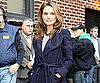 Slide Picture of Natalie Portman Arriving at The Late Show in NYC