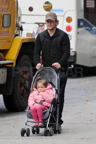 Pictures of Matt Damon and Isabella