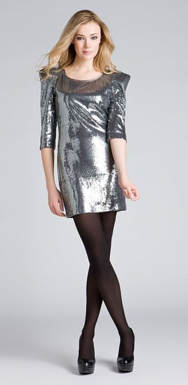 ABS Sequin Dress ($100)