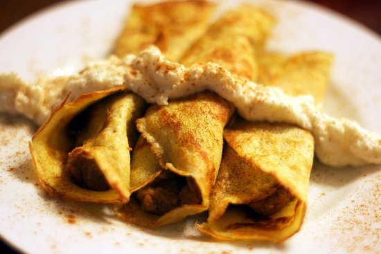 Sweet Potato Crepes
