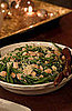 Haricots Verts With Toasted Almonds and Parmesan Cheese