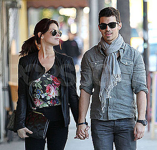 Pictures of Ashley Greene and Joe Jonas Holding Hands in LA