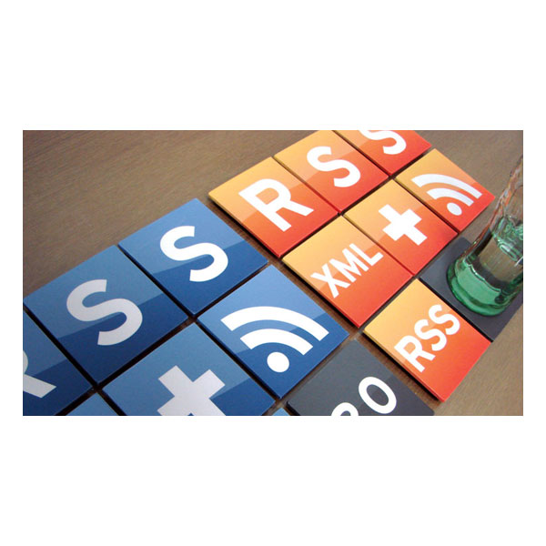 RSS Reader Coasters ($45)
