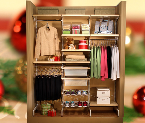 "While gifting the audience with these Elfa customizable closet systems ($1,000) from The Container Store, Oprah revealed that one of her best dates with Stedman was when he took her to the famous organizational store, and that she gets ""excited by all those containers."""