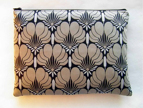 Handmade 10-Inch Laptop Sleeve in Amy Butler Fabric ($25)