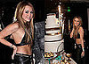 Miley Cyrus in a Bikini Top With Tish, Demi Moore and Rumer Willis on her 18th Birthday