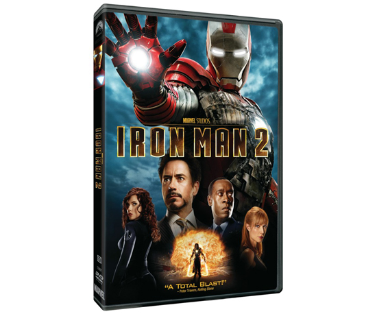 Iron Man 2 ($44.95 for Blu-Ray + DVD + Digital Copy)
