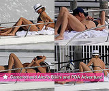 Pictures of Cameron Diaz in a Bikini With Alex Rodriguez in Miami