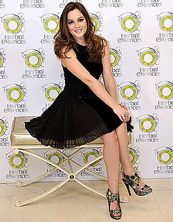 Pictures of Leighton Meester Promoting Herbal Essences in Spain