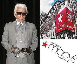 Karl Lagerfeld Designs For Macy's