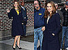 Natalie Portman Arriving at Letterman