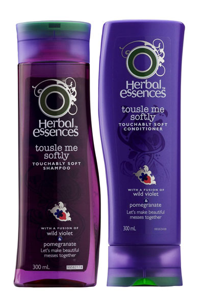 Herbal Essences Tousle Me Softly Shampoo and Conditioner ($5.99 each)