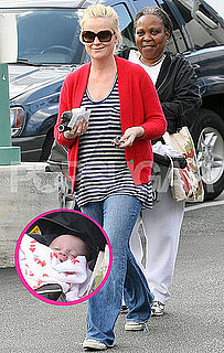 Pictures of Amy Poehler and New Baby Shopping on Thanksgiving