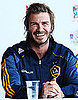 Pictures of David Beckham With LA Galaxy in Sydney