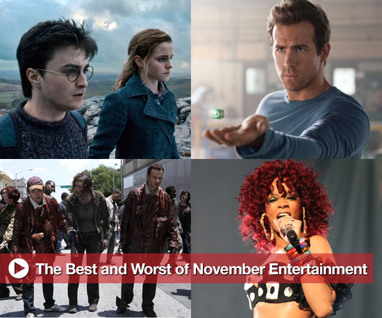 Buzz Backtrack: The Best and Worst of November Entertainment