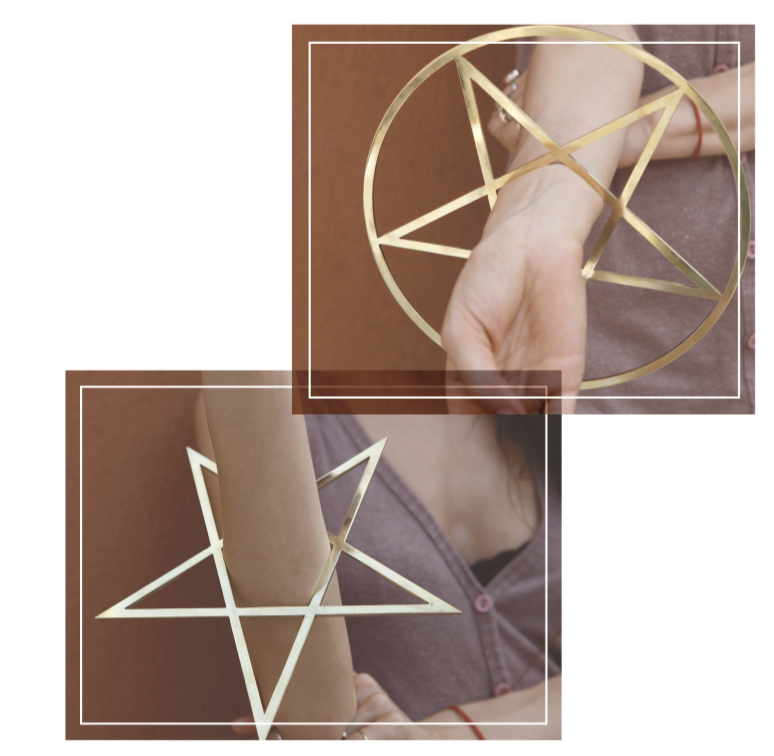 Five Point Star Bangle
