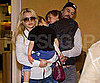Slide Picture of Britney Spears and Jason Trawick With Sean Preston and Jayden James at LAX