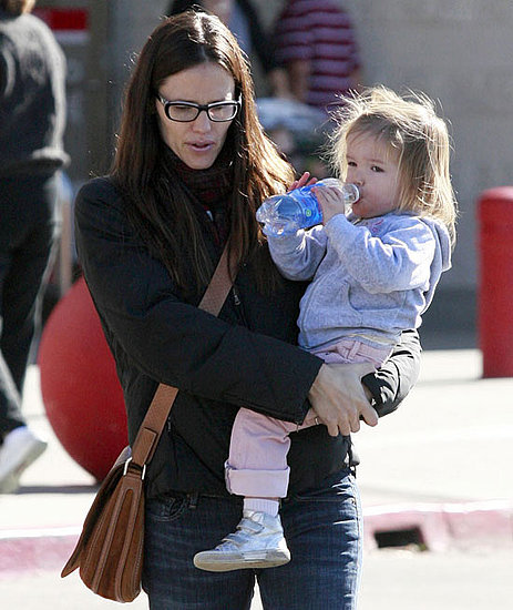 Pictures of Jennifer Garner and Sera at Target