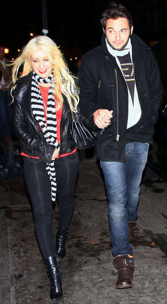 Pictures of Christina Aguilera and Her New Man Matthew Rutler