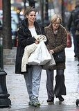 Pictures of Amanda Peet Out With Family in NYC