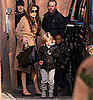 Pictures of Angelina Jolie, Shiloh, and Zahara Going to the Paris Aquarium