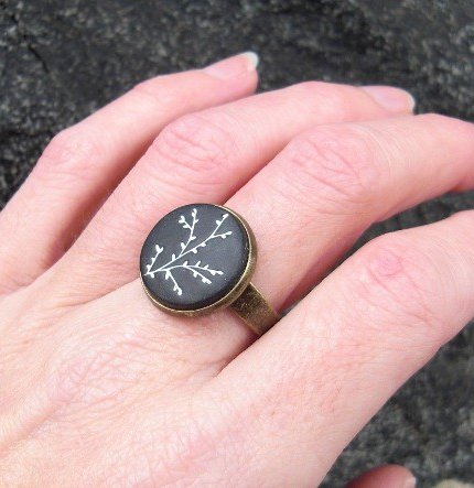 Handmade Carved Ring ($18)