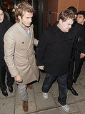 Pictures of David Beckham and James Corden in London Ahead of England's World Cup 2018 Bid Amid New Infidelity Allegations