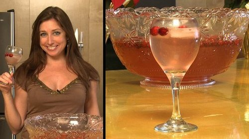 Sparkling Rose Punch Recipe